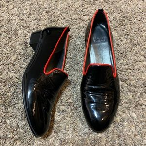 Stuart Weitzman Patent Leather Loafers 5M